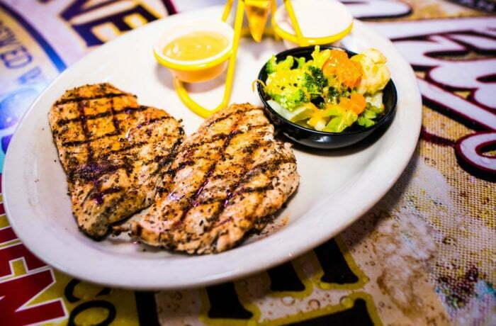 Cajun Chicken Dinner