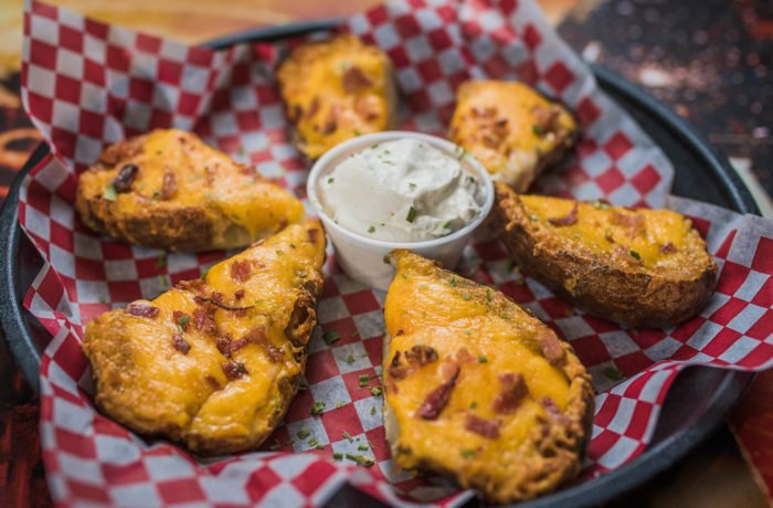 Cajun Ranch Potato Skins