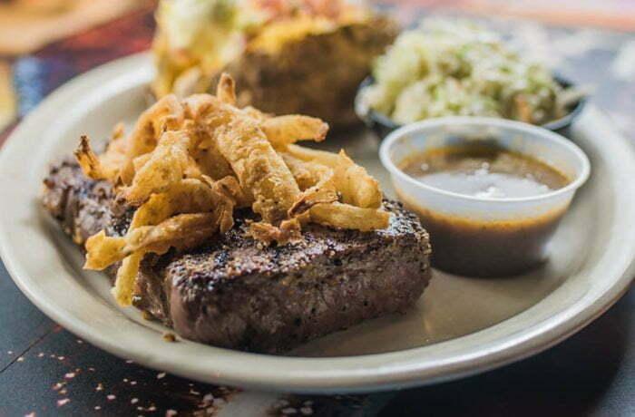 Sirloin Steak with Garlic Butter Sauce