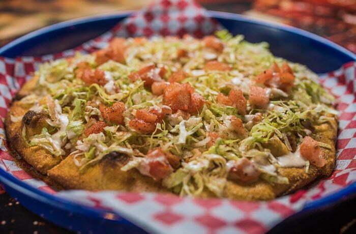 Cajun Ranch Pizza