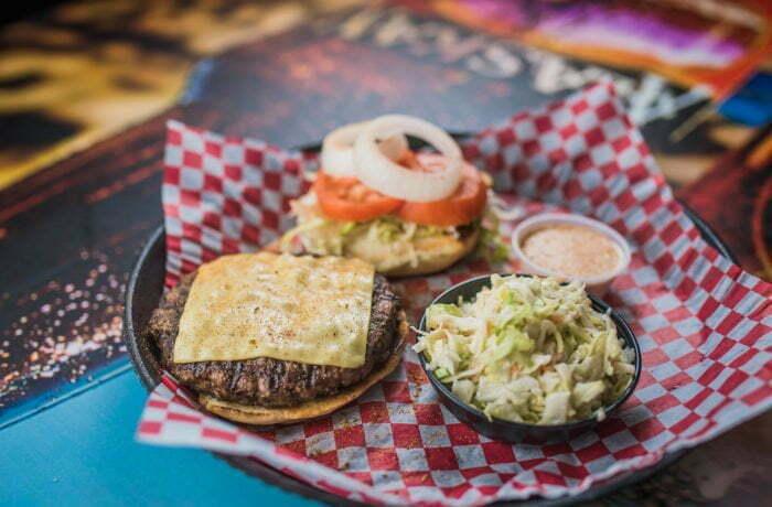Cajun Ranch Burger