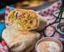 Cajun Ranch Chicken Wrap
