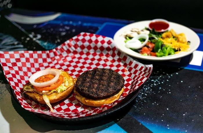 Space Aliens Alien Burger